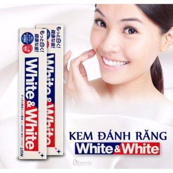 Kem Đánh Răng White & White Lion 150G
