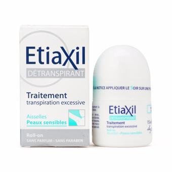 Lăn Khử Mùi Etiaxil 15ml Cho Da Nhạy Cảm - Đặc Trị Hiệu Quả Hôi Và Viêm Vùng Da Dưới Nách