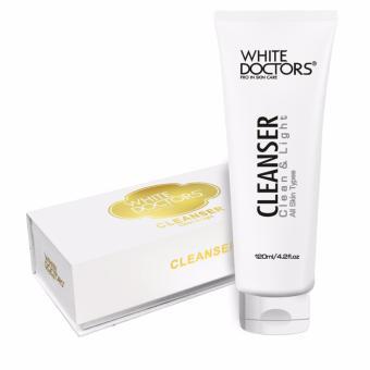 Sữa rửa mặt ngăn ngừa mụn giảm nám làm sáng da White Doctors 120ml