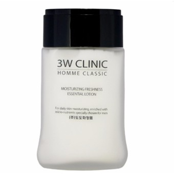 Bộ Sản Phẩm Chăm Sóc Da Cho Nam 3w Clinic Homme Classic Essential Skin Care Set