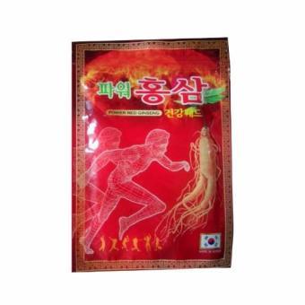 Miếng dán hồng sâm Hàn Quốc gói 20 miếng (Đồng đỏ)