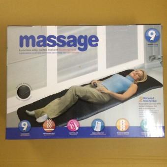 Nệm massage với 9 điểm 4 vùng cơ thể The Flamme (Đen)
