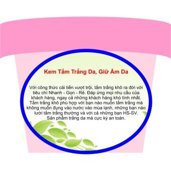 Kem Tắm Trắng Da, Giữ Ẩm Da (Tắm Trắng Khô) Trinh Nữ Hoàng Cung Dạng Sữa - 200ml - TNHC1003T99