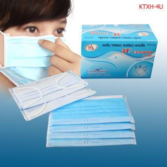 Hộp khẩu trang y tế kháng khuẩn cao cấp Nam Anh - 4U