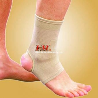 Băng thun bảo vệ cổ chân gót hở ES901 (Kem)
