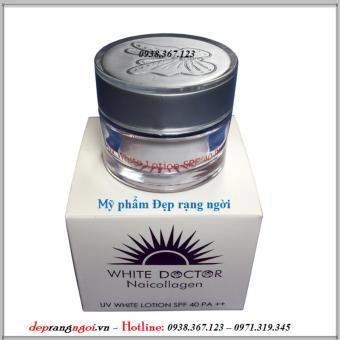 Kem trắng da - Chống nắng - Giữ ẩm White Doctor Naicollagen 9g
