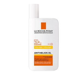 Kem chống nắng không gây nhờn rít cho da nhạy cảm SPF50+ UVB&UVA La Roche Posay Anthelios Ultra Fluid 50ml