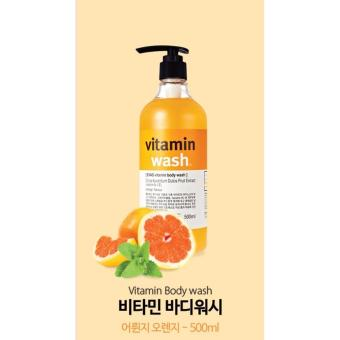 Sữa tắm EVAS Vitamin chiết xuất Cam