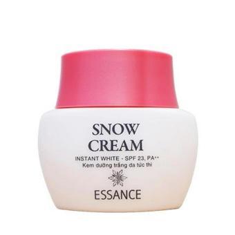 Kem dưỡng trắng da tức thì Essance Snow Cream Instant White SPF 23, PA++ 50g