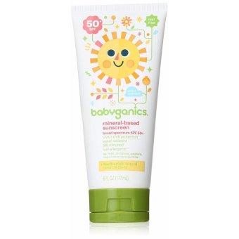 Kem chống nắng cho trẻ em Babyganics Mineral-Based Baby Sunscreen Lotion SPF 50 177ml (Mỹ)