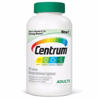Centrum multivitamin 365 viên của Mỹ - Vitamin cho người dưới 50 tuổi của Mỹ