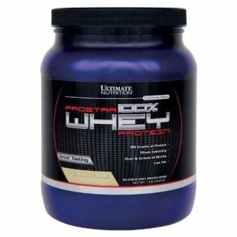 Sữa Tăng Cơ Giảm Mỡ Vị Vani Prostar 100% Whey Protein 907g