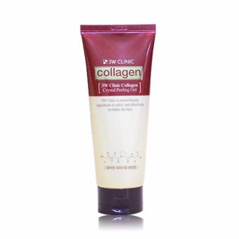 Gel tẩy tế bào chết 3W Clinic chiết xuất Collagen 180ml
