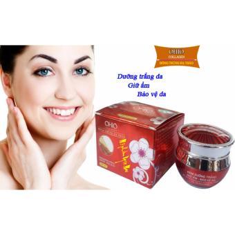 Kem dưỡng trắng - Giữ ẩm - Bảo vệ da OHIO Collagen - Đông Trùng Hạ Thảo (20g)