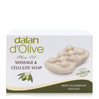 Xà phòng massage và điều trị rạn da Dalan d'Olive Olive Oil Massage & Cellulite Soap 150g