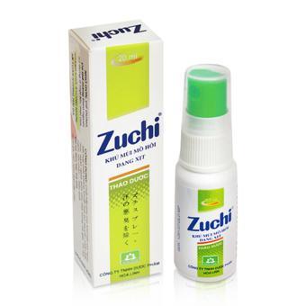 Xịt Nách Zuchi Thảo Dược 20ml ( Xanh )