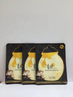 Hộp 10 miếng Mặt nạ dưỡng ẩm tinh chất mật ong – Bombee Black Honey Mask Pack