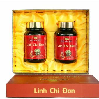 Viên giải độc rượu bia Linh Chi Đơn của Việt Bảo Đan hộp 2 lọ x 30 viên