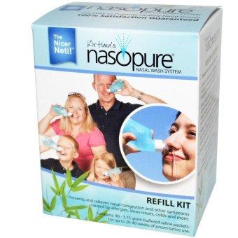 Bộ 20 gói Nước muối rửa mũi xoang NASOPURE Refill Kit 3.75g