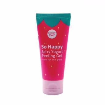 Tẩy tế bào chết Yaua Dâu Cathy Doll So Happy Berry Yogurt Peelling Gel 60ml