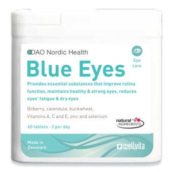 Blue Eyes giảm mỏi mắt, khô mắt, giúp mắt sáng khỏe