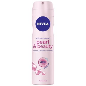 Xịt ngăn mùi NIVEA Pearl and Beauty Spray 150ml