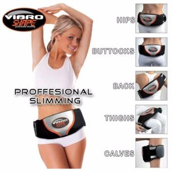 Đai massage bụng Vibro Shape (Đen)