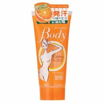 Kem giảm mỡ bụng Esteny Hot Massage Body 240g (cam)