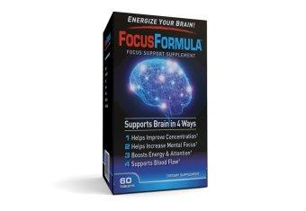 Thực phẩm bổ sung tăng cường sức khỏe não bộ Focus Formula