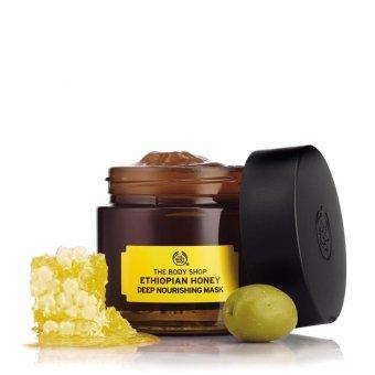 Mặt nạ dưỡng da THE BODY SHOP Ethiopian Honey Deep Nourishing Mask 75ml