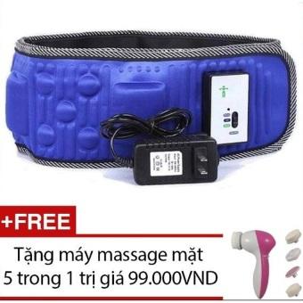 Đai mát xa giảm béo Vibro X5 + Tặng máy massage mặt 5 trong 1