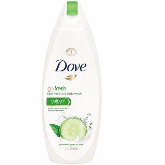 Sữa tắm dưỡng ẩm da hương dưa leo & trà xanh Dove Body Wash Cool Moisture 650ml