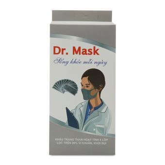 Khẩu trang y tế 4 lớp than hoạt tính Dr. Mask KT 03