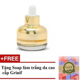 Tinh chất điều trị nám và dưỡng trắng da cao cấp Grinif Ultimate Blemish Solution Ampoule 30ml+ Tặng soap làm trắng da cao cấp Grinif
