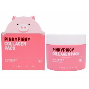 Mặt nạ săn da chiết xuất bì heo April Skin Pinkybiggy Collagen Pack 100g