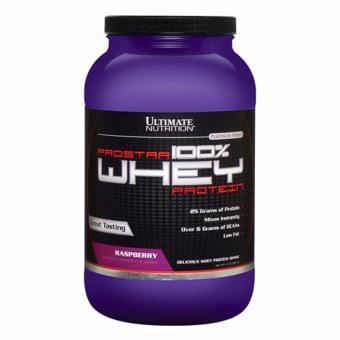 Prostar 100% Whey Protein - Sữa tăng cơ giảm mỡ vị dâu rừng 907g