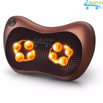 Gối Massage 8 đá 4 to 4 nhỏ Massage Pillow PL-8029S model 2017