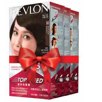 Thuốc nhuộm tóc Revlon Top Speed - 60 Natural Brown