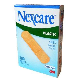 Hộp 100 băng keo cá nhân 3M Nexcare Plastic Strips