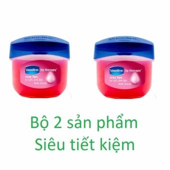 Bộ 2 sáp dưỡng môi Vaseline Rosy Lip Therapy 7g