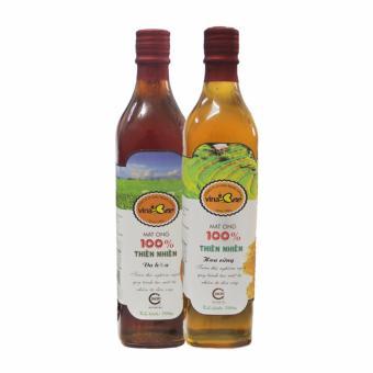 Bộ 2 mật ong chăm sóc sức khỏe vinabee 700g