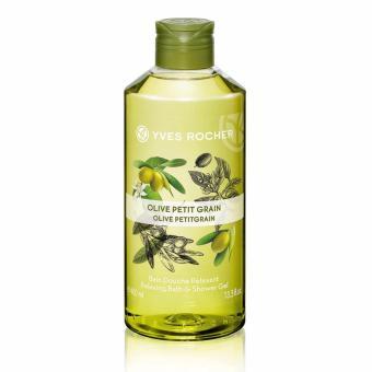 Gel tắm hương olive và tinh dầu cỏ chanh Yves Rocher 400ml