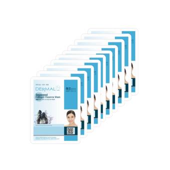 Bộ 10 gói Mặt Nạ Tinh Chất Collagen Và Tảo Biển Dermal Seaweed Collagen Essence Mask x10