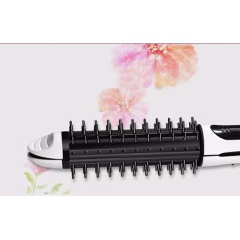 Cách làm tóc cúp bằng máy sấy - Máy làm tóc cao cấp 2 trong 1 (Là, Uốn) RIDA GX68, siêu bền, sử dụng dễ dàng - BH 1 ĐỔI 1