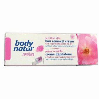 Kem Tẩy Lông Cho Da Nhạy Cảm Body Natur Sensitive 100Ml