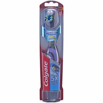 Bàn chải đánh răng dùng pin Colgate 360 Total Advanced Floss-Tip Battery Toothbrush (Xanh)