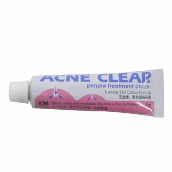 Kem trị mụn mủ mụn bọc sưng đau ACNE CLEAR pimple treatment cream 15g