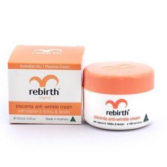 Kem dưỡng ẩm chống lão hóa chống nhăn Rebirth Placenta Anti-Wrinkle Cream 100ml