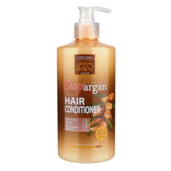 Dầu xả chống rụng từ tinh chất argan GREEN GRAPHY Deep Essence Argan Moisture Hair Conditioner 500g