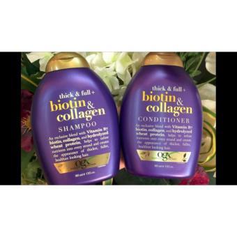 Bộ dầu gội và dầu xả cao cấp Biotin & collagen 385ml